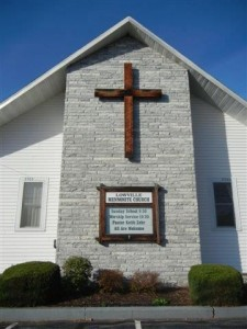 Lowville Mennonite Church building